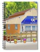 Opie's Snowball Stand Spiral Notebook