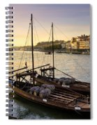 Oporto At Dusk Spiral Notebook