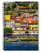Oporto By The River Spiral Notebook
