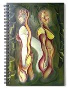 Opposite Spiral Notebook
