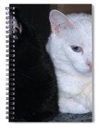 Opposites Spiral Notebook