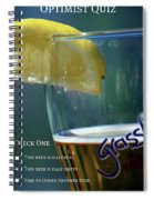 Optimist Quiz Spiral Notebook
