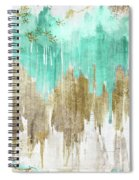 Opulence Turquoise Spiral Notebook