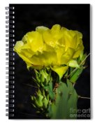 Opuntia Robusta Flower Spiral Notebook