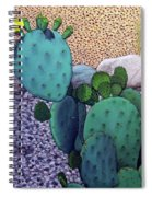 Opuntia Spiral Notebook