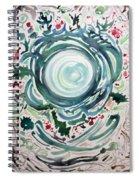 Oracular Yule Wreath Spiral Notebook