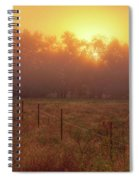 Oranage Dawn Spiral Notebook