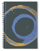 Orange And Blue 3 Spiral Notebook