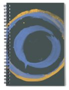 Orange And Blue1 Spiral Notebook