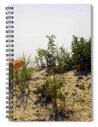 Orange Beach Umbrella  Spiral Notebook