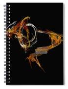 Orange Bird Spiral Notebook