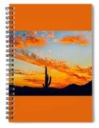 Orange Blossom Moments Spiral Notebook