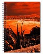 Orange Coast Spiral Notebook