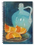 Orange Complement Spiral Notebook