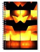 Orange Crown Spiral Notebook
