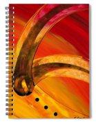 Orange Expressions Spiral Notebook