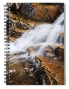 Orange Falls Spiral Notebook