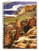 Orange Flats Spiral Notebook