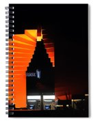 Orange Fountain Downtown Los Angeles Spiral Notebook