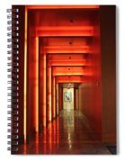 Orange Hallway Spiral Notebook