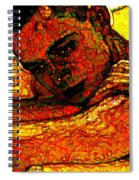 Orange Man Spiral Notebook