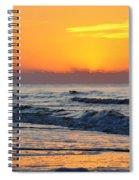 Orange Morn Spiral Notebook