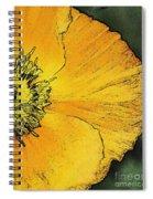 Orange Oriental Poppy Spiral Notebook