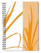 Orange Palm Spiral Notebook