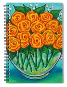 Orange Passion Spiral Notebook