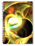 Orange Pearl Spiral Notebook