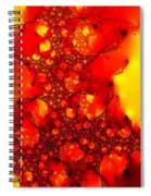 Orange Peel Spiral Notebook