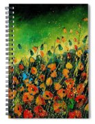 Orange Poppies 459080 Spiral Notebook