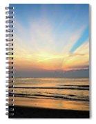 Orange Seas Spiral Notebook