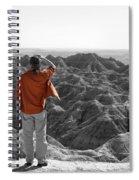 Orange Shirt Spiral Notebook