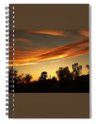 Orange Sky Spiral Notebook