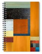 Orange Study With Compliments 2.0 Spiral Notebook