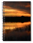 Orange Sunrise Spiral Notebook