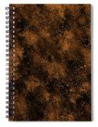 Orange Textures 001 Spiral Notebook