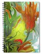 Orange Tulip Spiral Notebook