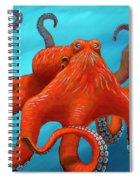 Orange-u-gr-8 Spiral Notebook