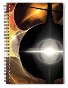 Orange Web Spiral Notebook