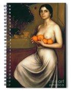 Oranges And Lemons Spiral Notebook