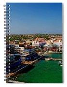 Oranjestad Aruba Spiral Notebook