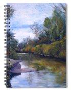 Orara River Nsw Australia 1995   Spiral Notebook