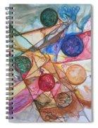 Orb Crossing.. Spiral Notebook