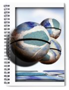 Orbiting Out Spiral Notebook