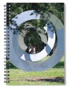 Orbs Spiral Notebook
