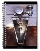 Orcas Island Urinal Spiral Notebook
