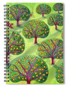 Orchard Spiral Notebook