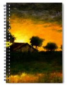 Orchard Sundown Spiral Notebook